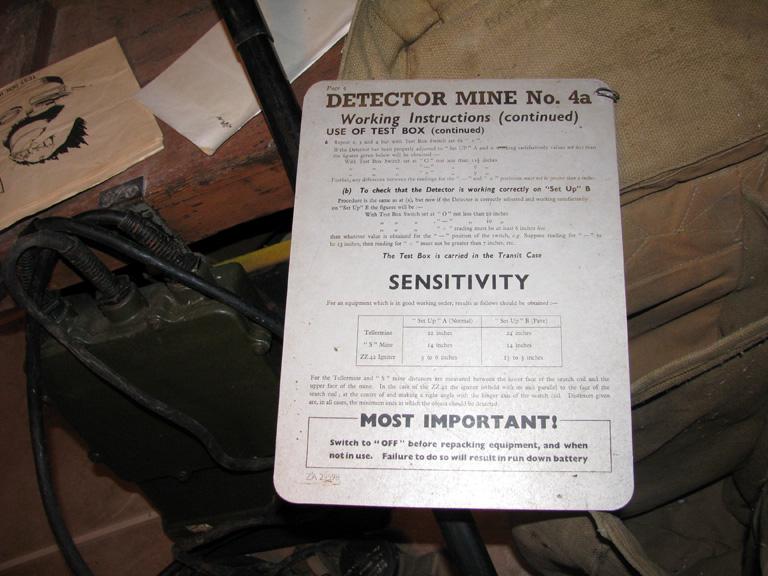 mine detector Mine_d14