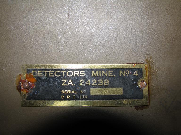mine detector Mine_d16