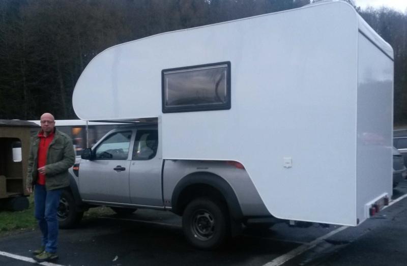 Eine Wohnkabine für meinen Pickup Aufran10