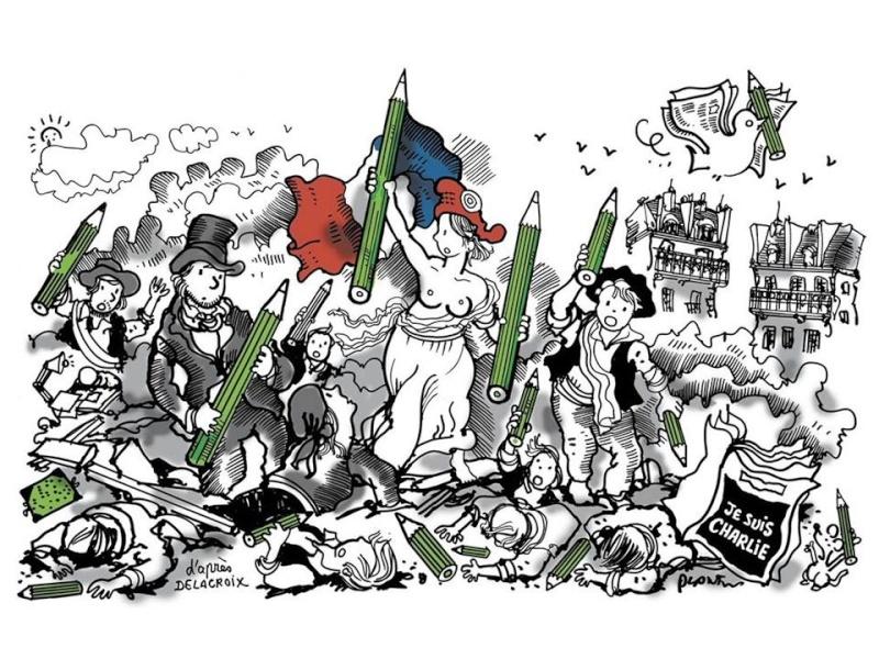 Histoire des médias, de la presse et de la presse satirique en France : quelques éléments d'information. 10891510