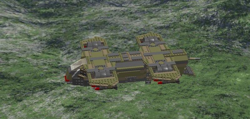 AHE-14 Thunderbear Close Support Transport Craft Ahe-1211