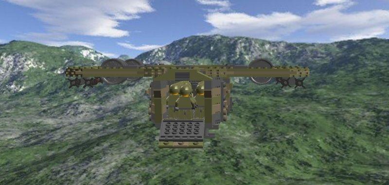 AHE-14 Thunderbear Close Support Transport Craft Ahe-1212