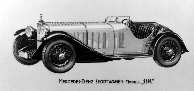 MERCEDES-BENZ SSK ROADSTER 1928 : (  DIORAMA 1/18 ) Ssk_ro10