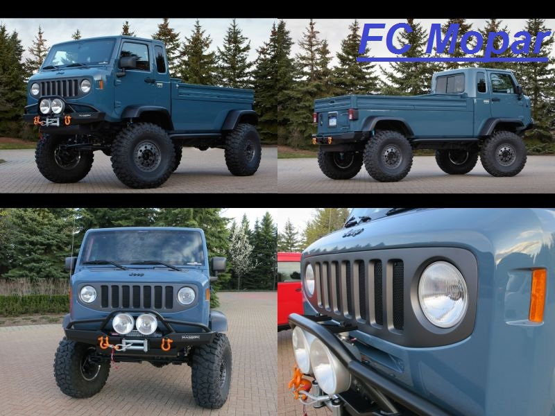 unimog jeep Fond_d20