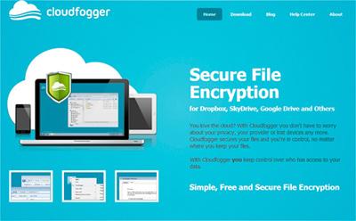 CloudFogger, encripta toda tu información! Cloudf11