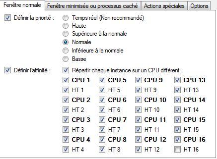 """Option """"répartir chaque instance sur un CPU différent"""" Bpm_1610"""
