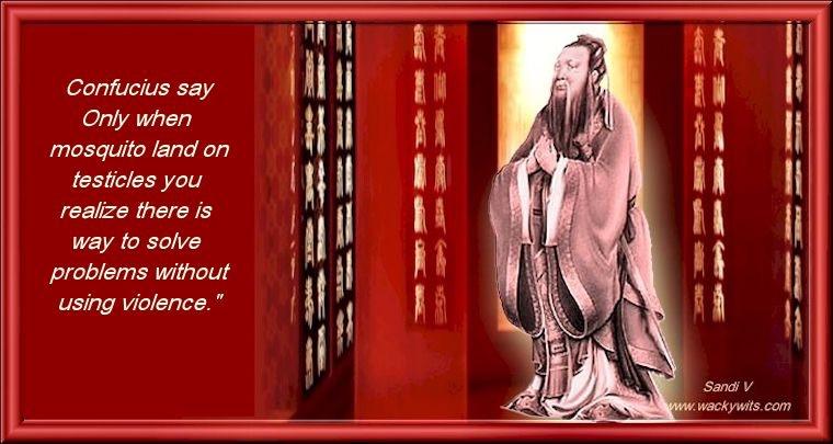 Confucius Says Confuc11