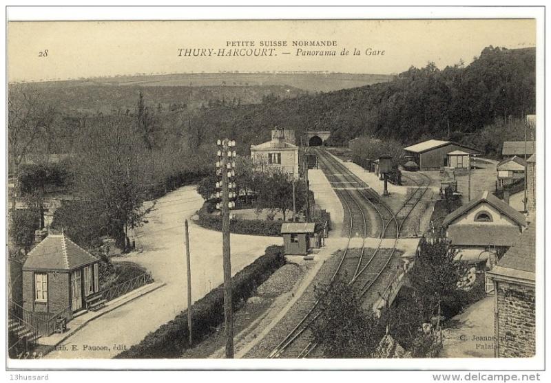 la petite gare de Thury Harcourt 826_0010