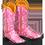 Biche Royale => Fourrure de Cerf Rose Pinkco10