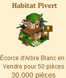 Habitat Pivert => Ecorce d'arbre blanc Sans_376