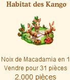 Habitat des Kangourous / Habitat Kangourou Pirate => Noix de Macadamia Sans_403