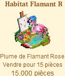 Habitat Flamant Rose => Plume de Flamant Rose Sans_505