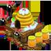 Ruche, Ruche rayée, Super ruche => Miel Xmashi10