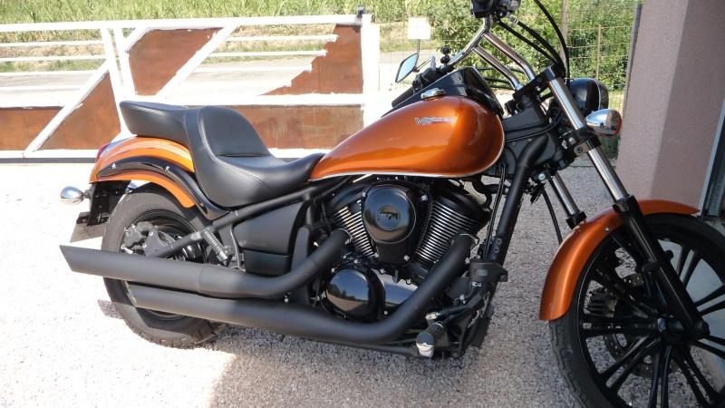 900 VN - selle sur vn900 CUSTOM P1020511