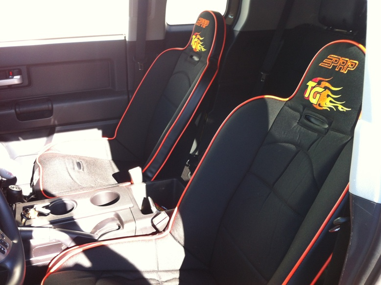 Trail-Gear 2012 FJ Build - PRP Seats Img_0912