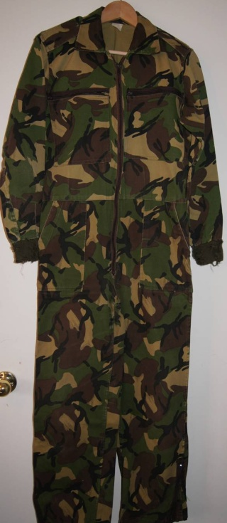 Green DPM Armored Crewman's Coveralls  Dpm_ta10