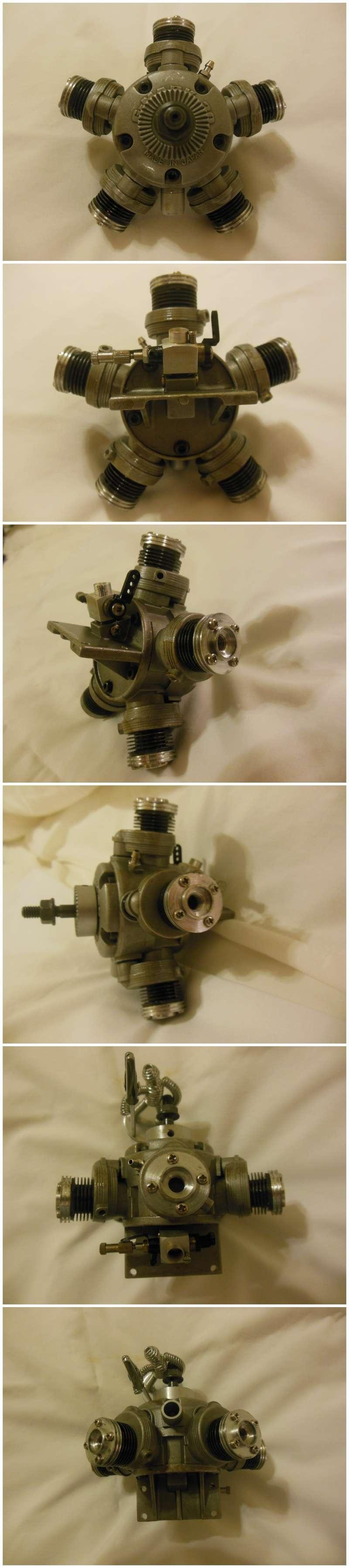 G-Mark 5 Cylinder Radial .030 G-mark11