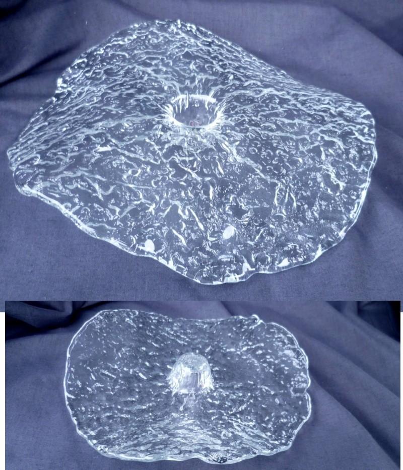 Organic Melting Ice Plate Candle Holder Ice10