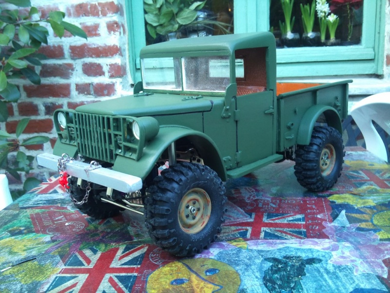 New Dodge M37 Power Wagon Pick-Up 1/10 SG. - Page 3 Dsc_0749