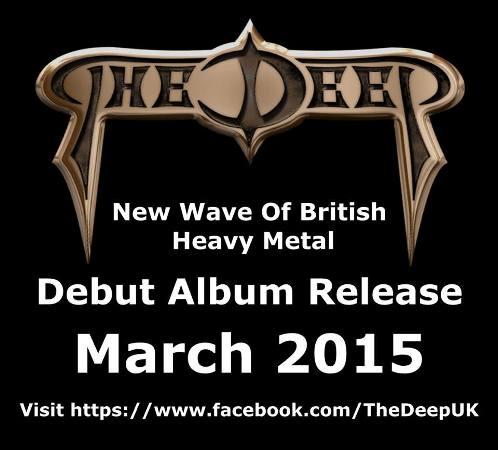 The Deep - Premonition (2015) Album Review Promo_14