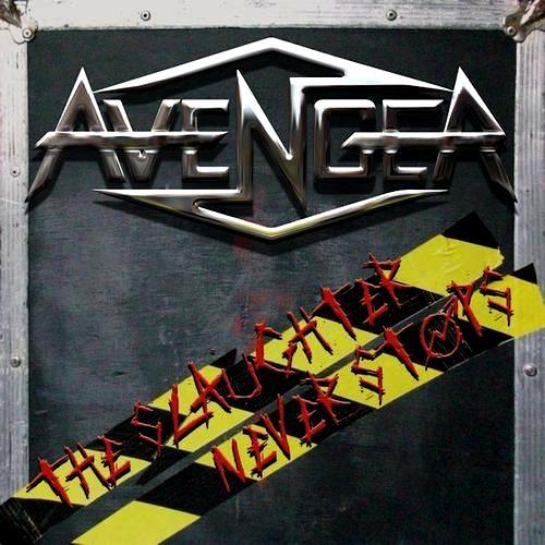 Avenger - The Slaughter Never Stops (2014) Album Review The_sl10