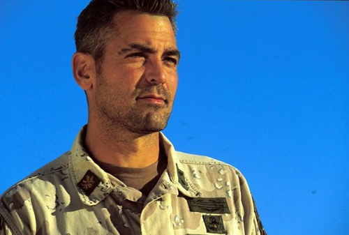 My goodness, but wasn't George Clooney hot in this film! G-3kin10