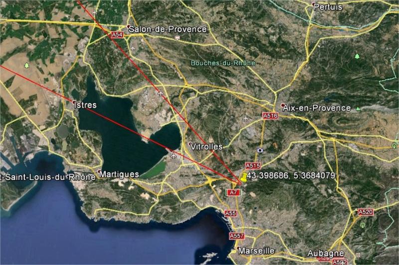 2005: le 06/10 à 23h30 - Ovni en Forme de triangle -  Ovnis à Marseille - Bouches-du-Rhône (dép.13) Gaia8310