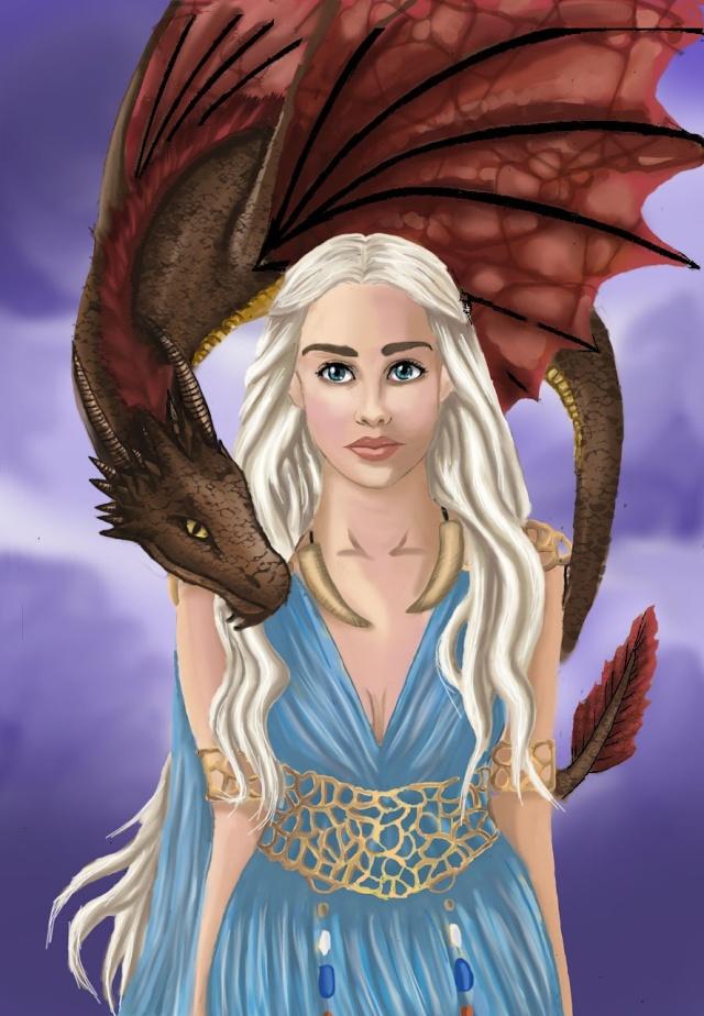 Daenerys Digital paint' [evapowa] Dae21