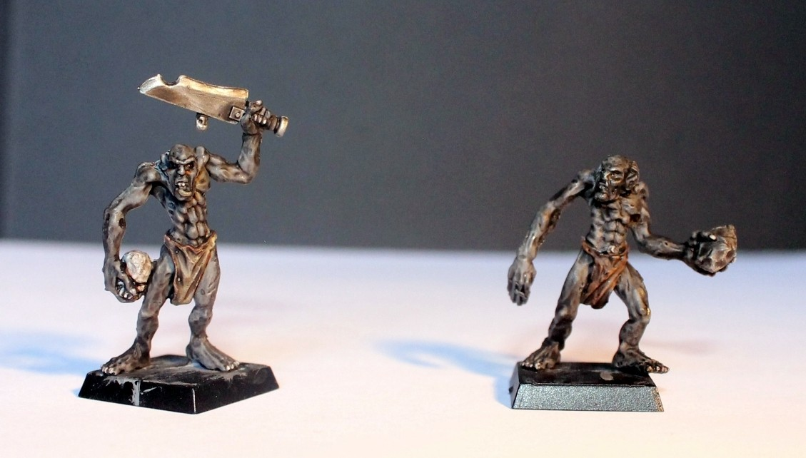 undead - MasterSpark's Undead warband Ghouls16