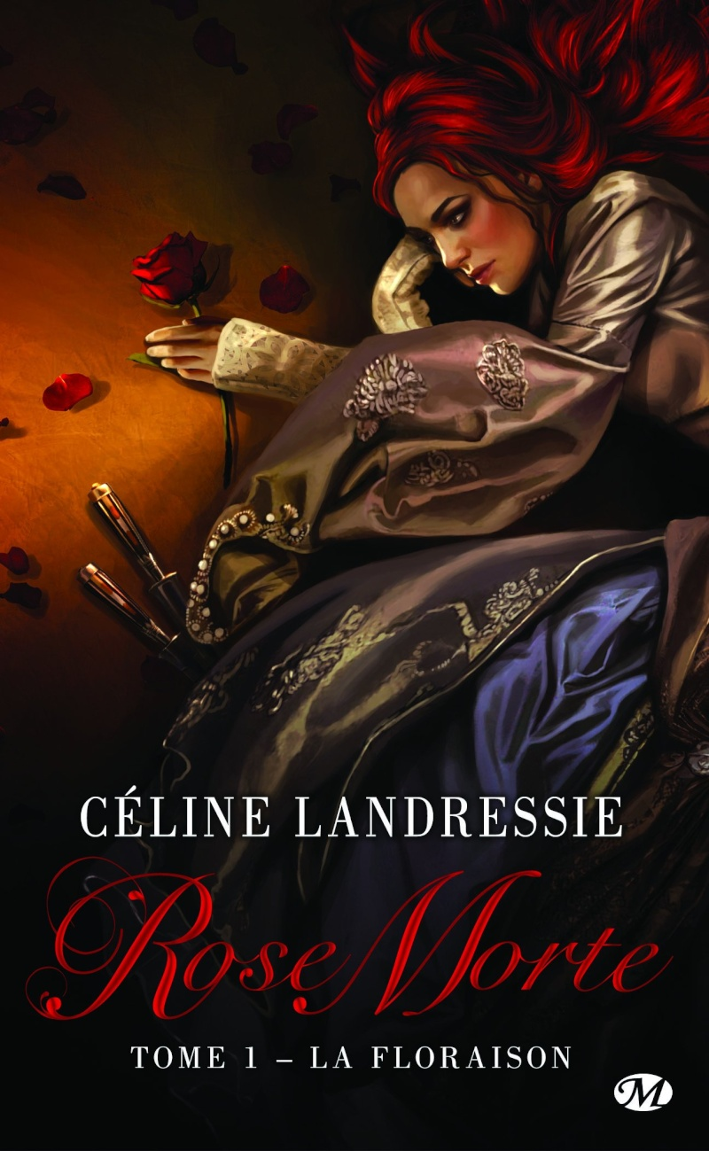 LANDRESSIE Céline - ROSE MORTE - Tome 1 : La Floraison  Rose-m10