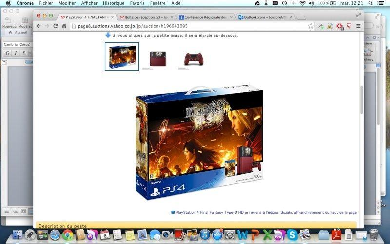 PS4 Limited FF Type 0 et edition limited Captur10