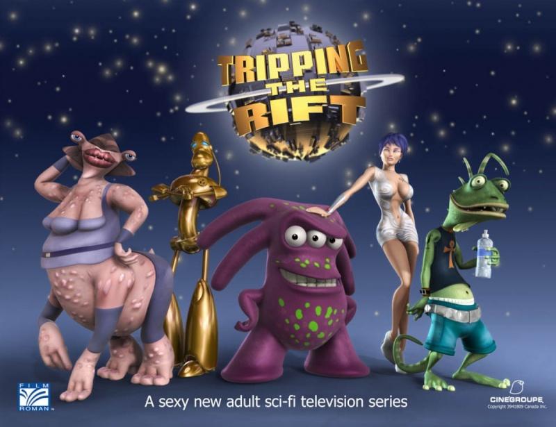 Les Décalés du cosmos [ VO :Tripping the Rift] Trippi10