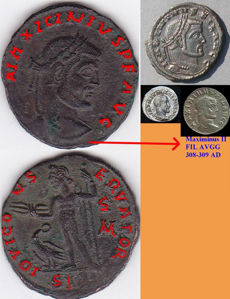 FOLLIS de billon pour MAXIMINUS II (310-313). Img15_11