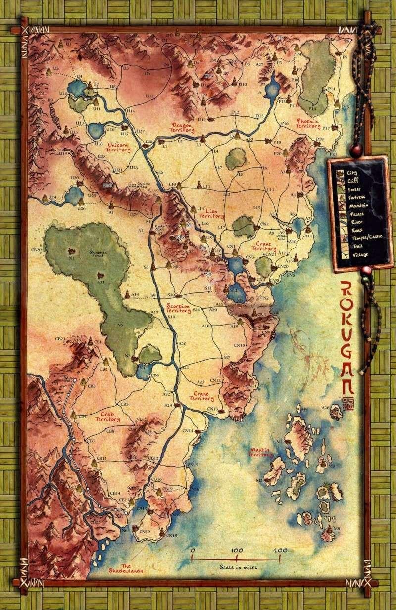 Rokugan Map Rokuga10