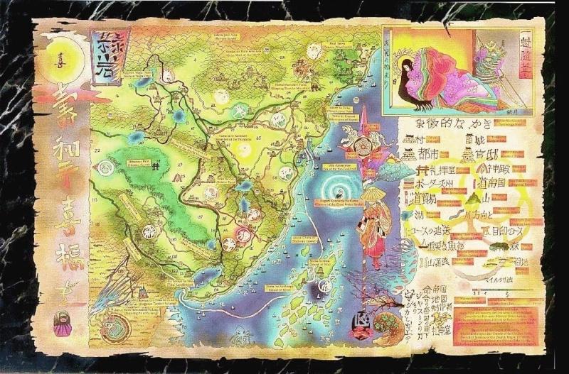 Rokugan Map Rokuga14
