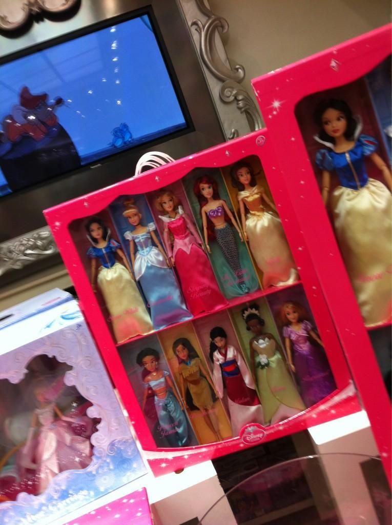 existe t-il une boite avec toutes les princesses ? A30tzn10