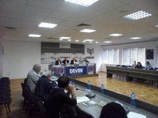 Avrupa Enstitüsü-Pomak- Sofyada konferans yaptı. Sam_2111