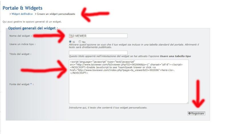 Inserire Teamspeak 3 Viewer nel proprio forum Crea_w10