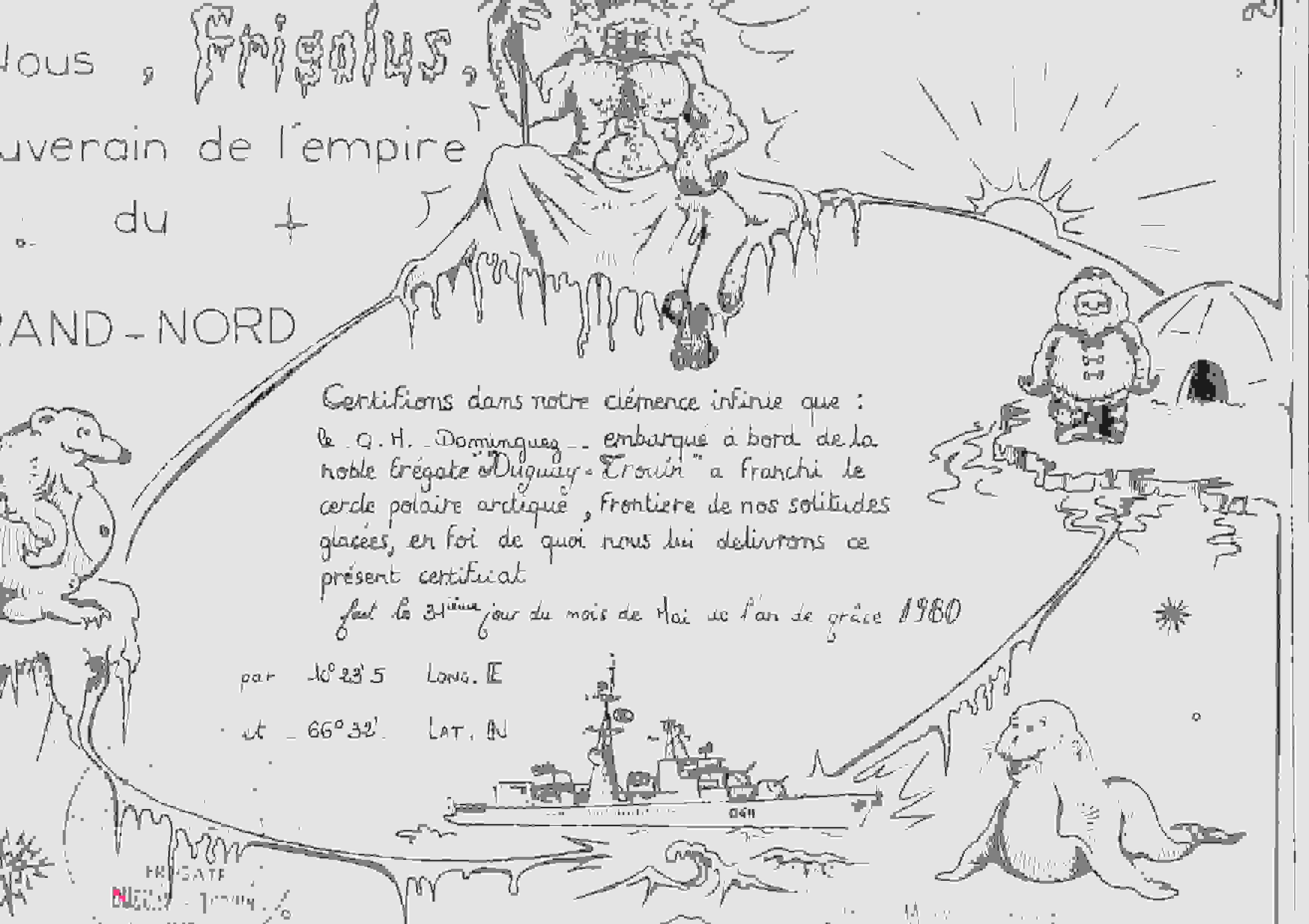 [Les traditions dans la Marine] Passage du cercle polaire (Sujet unique) - Page 3 Dgt_ce10