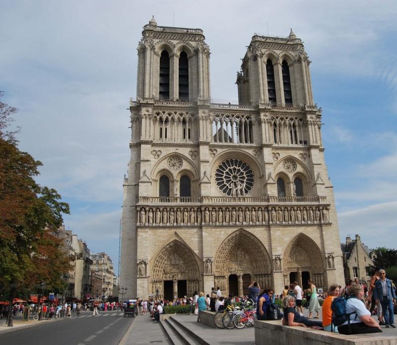 visite de Notre Dame de Paris Catedr11