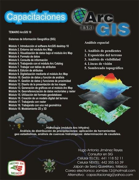 Curso ArcGIS Nivel Intermedio en Video Tutoriales Image10