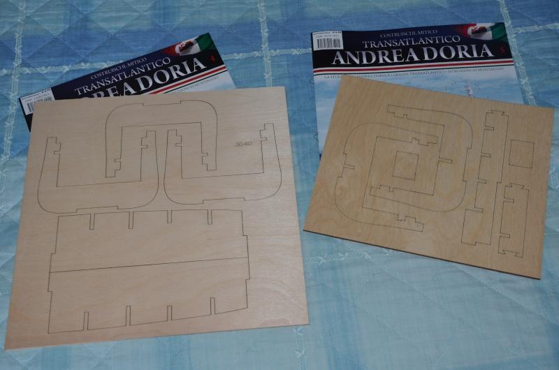 Andrea - Transatlantico Andrea Doria Hachette by Amati 00210