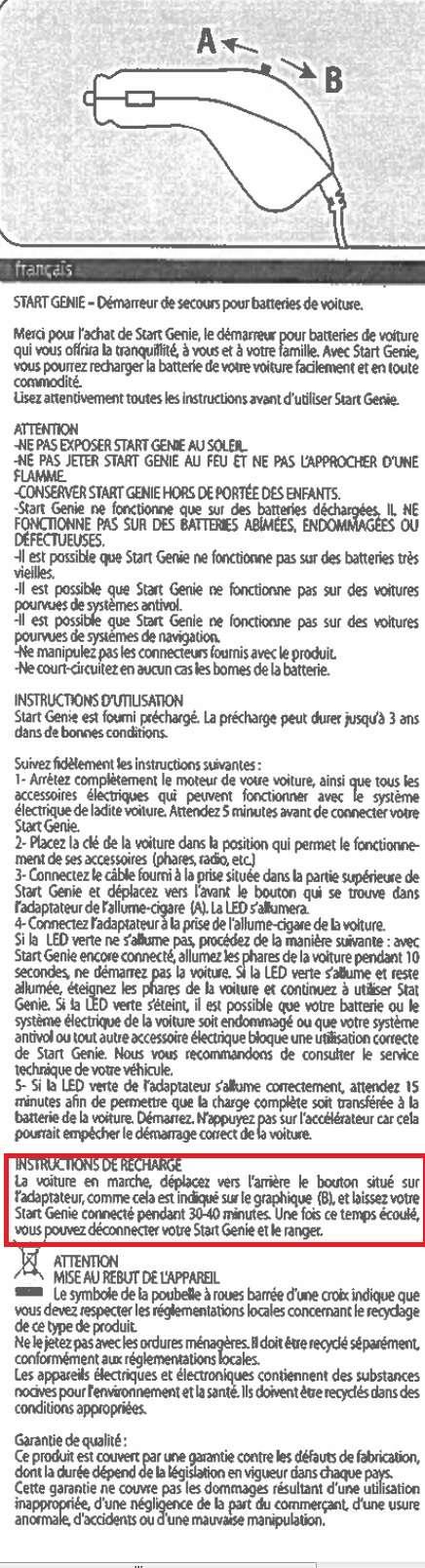 [ Alfa roméo Brera Spider 2.4JTDm an 2008 ] aide au démarage avec START GENIE - Page 2 Sans_t11