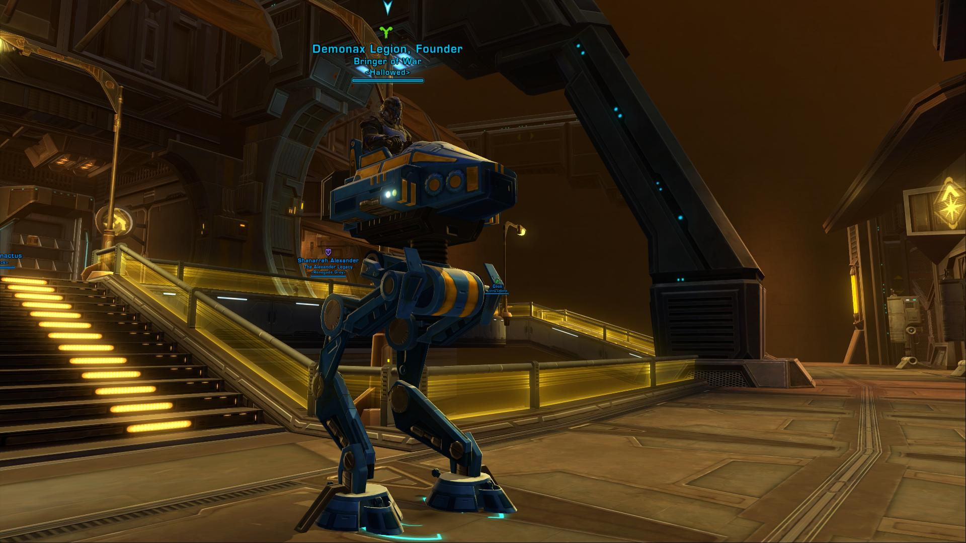 My alt Twin-Destiny getting some huttball on Swtor_11