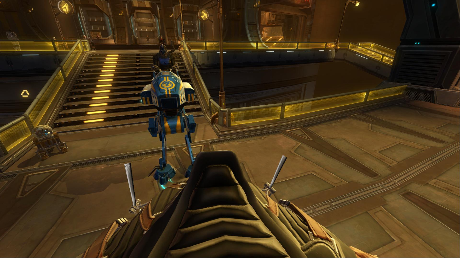 My alt Twin-Destiny getting some huttball on Swtor_12