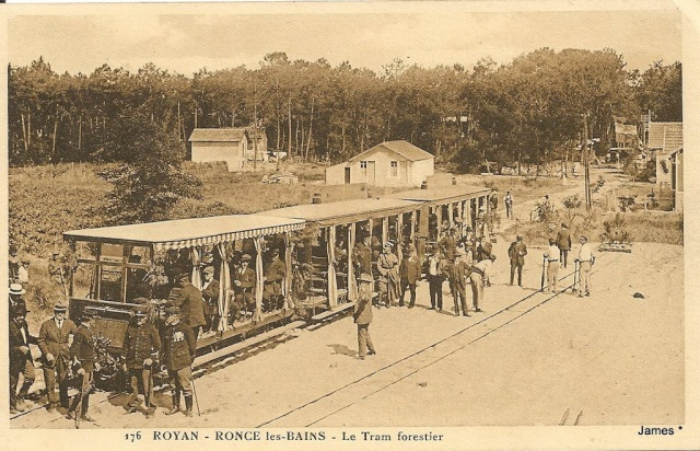 Tramway forestier Royan -Ronce les bains 1925 13220610