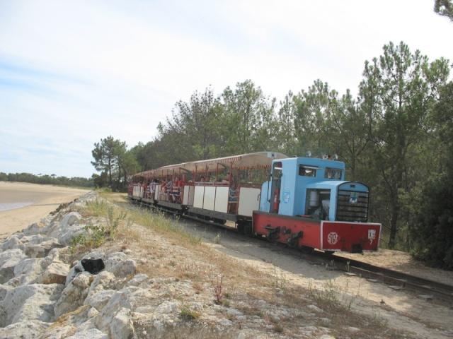 Retour de balade (petit train de St Trojan ) Vacanc18