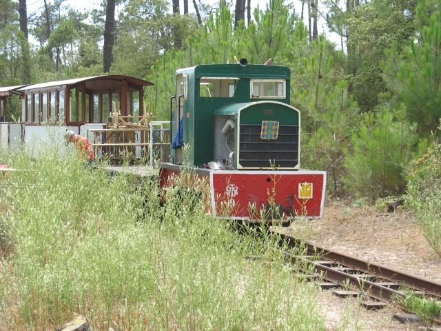 Retour de balade (petit train de St Trojan ) Vacanc19