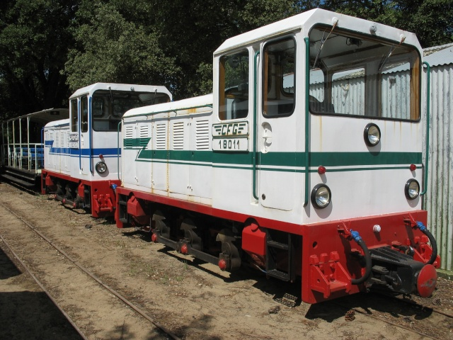 Retour de balade (petit train de St Trojan ) Wagons11