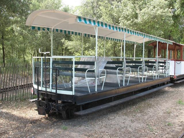 Retour de balade (petit train de St Trojan ) Wagons12